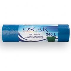 OSCAR TRASH BAGS LDPE 240L