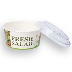 FRESH SALAD PAPER CASSEROLE+cover 750g