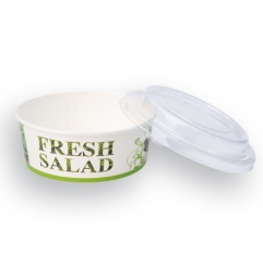FRESH SALAD PAPER CASSEROLE+cover 550g