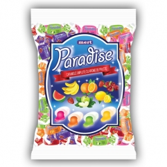PARADISE filled gummy caramels 800gr