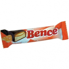 BENCE biscuit and caramel bar 22gr