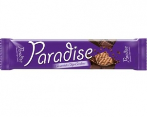 PARADISE cocoa biscuits with chocolate flakes 65gr