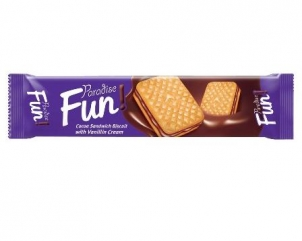 PARADISE FUN sandwich biscuits with cocoa cream 70gr