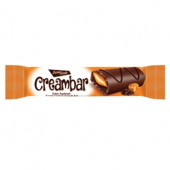 BONA FESTA CREAMBAR cocoa coated cake with caramel cream 50gr