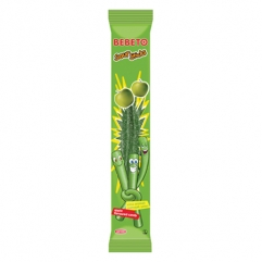 BEBETO SOUR STICK gummed jelly apple flavor 35gr