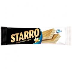 STARRO napolitane cu crema de vanilie 70gr