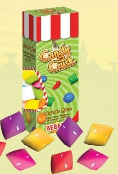 CANDY CRUSH guma de mestecat (cutiuta cu capac) 31gr