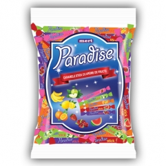 PARADISE STICKS gummy caramels