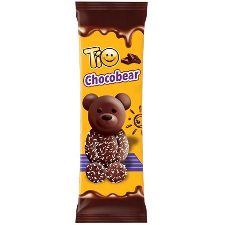 TIO CHOCOBEAR chocolate and coconut coated cake 50gr
