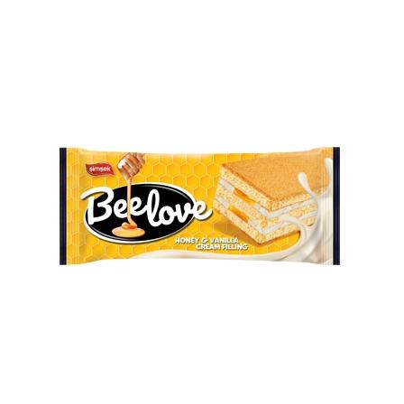 BEE LOVE prajitura chec cu miere si vanilie 60gr