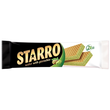 STARRO  wafer with fistic cream 70gr