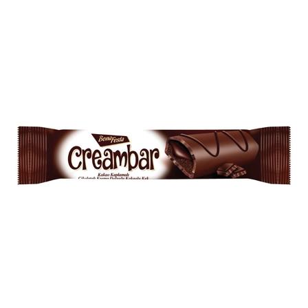 BONA FESTA CREAMBAR prajitura glazurata cu crema cacao 50gr