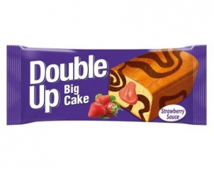 DOUBLE UP BIG strawberry cream cake 55gr