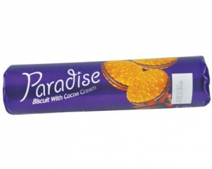 PARADISE sandwich  cocoa cream biscuits 150gr